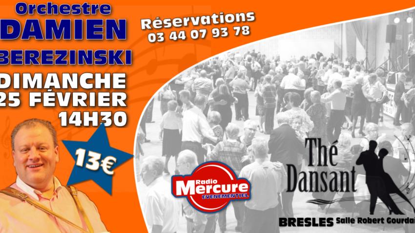 THE-DANSANT - DAMIEN BEREZINSKI @ Salle Robert Gourdain | Bresles | Hauts-de-France | France